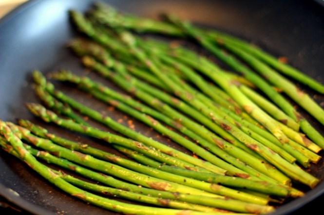 Steg dem tørt og tilsæt oliven olien til sidst...