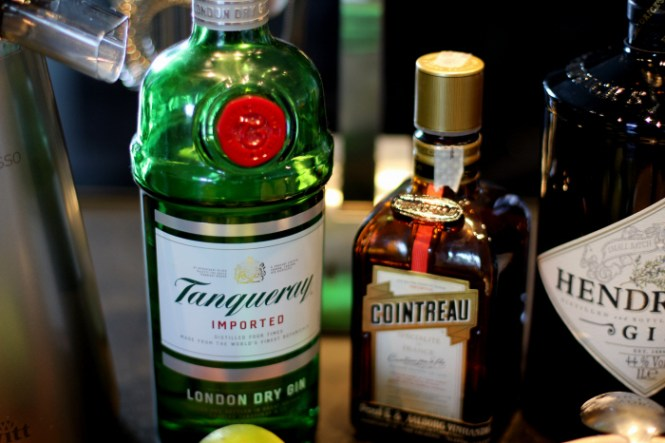 London Dry Gin og Hendricks...
