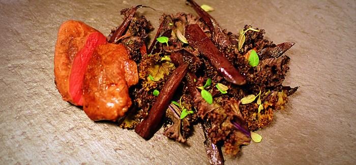 Skovdue, solbær og peberrod