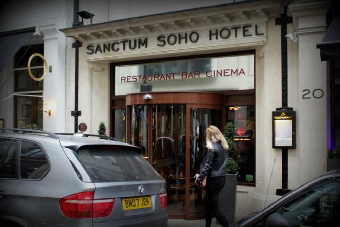 The Sanctum Soho Hotel...