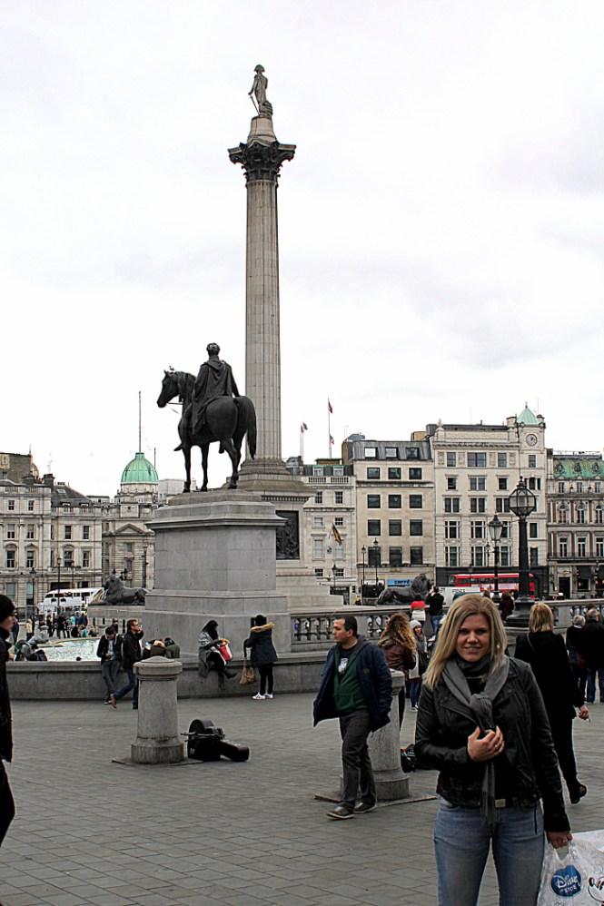 Trafalgar Square...