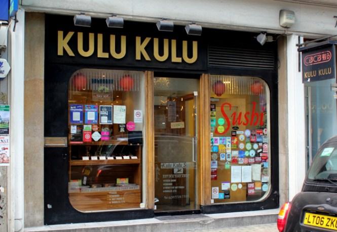 Muligvis én af de ældste sushi-restauranter i London...