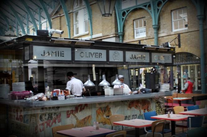 Jamie Olivers Restaurant i Cocent Garden...