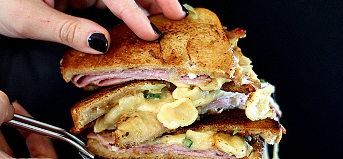 Gastromand vs. Food: The Mac 'n' Cheese Sandwich