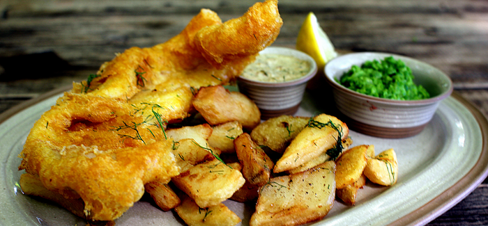 Fish 'n' Chips – british style