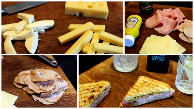 Klar til Cuban Sandwich!