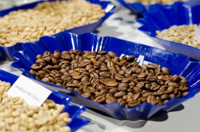 Kaffebønner, Arabica, Ristede kaffebønner