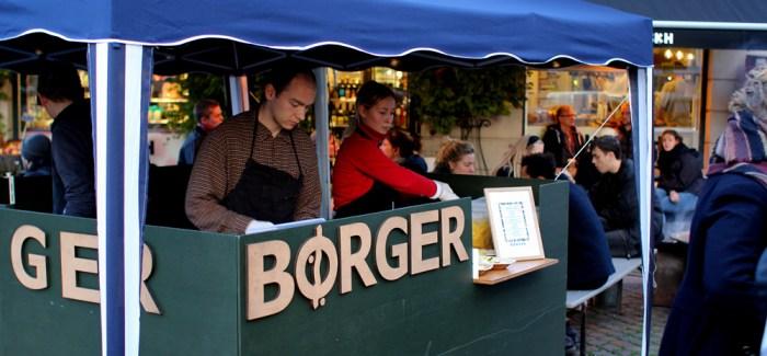 Gastromand på udebane: Børger laver KBH's bedste vegetarburger