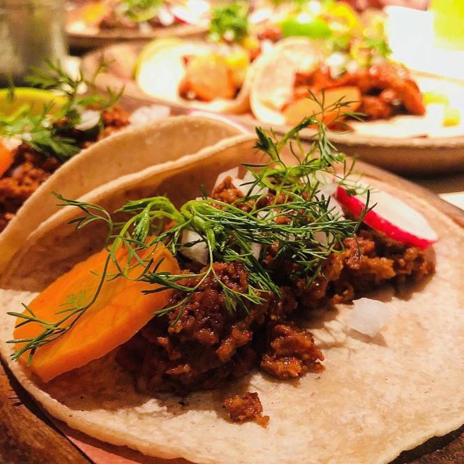 Tacos på Casa Enrique