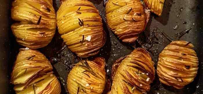 Hasselbagte kartofler – super sprøde og møre kartofler