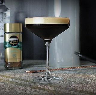 Cocktail: Smoked Espresso Martini