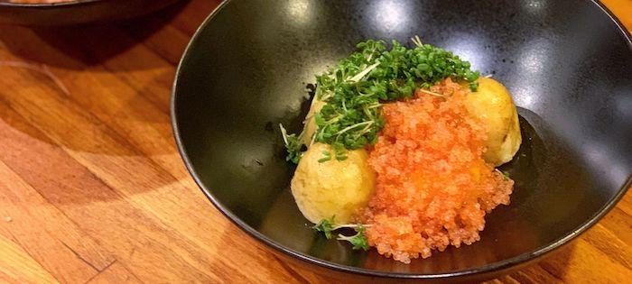 Kartoffel, æggeblomme & stenbiderrogn – en ægte forårsbebuder