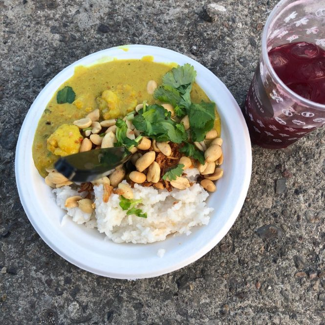 Vegansk mad på Copenhell