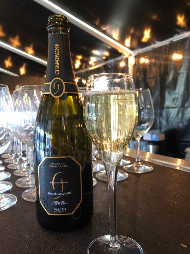 Champagne på Copenhell