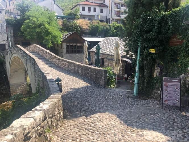 Spisested i Mostar Old Town