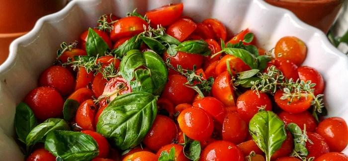 Perfekt til grillmaden: Langtidsbagte tomater
