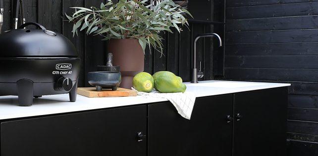 Udekøkken: Et Køkken Cabriolet fra ByLogstrup