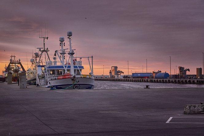 Havnen i Hanstholm