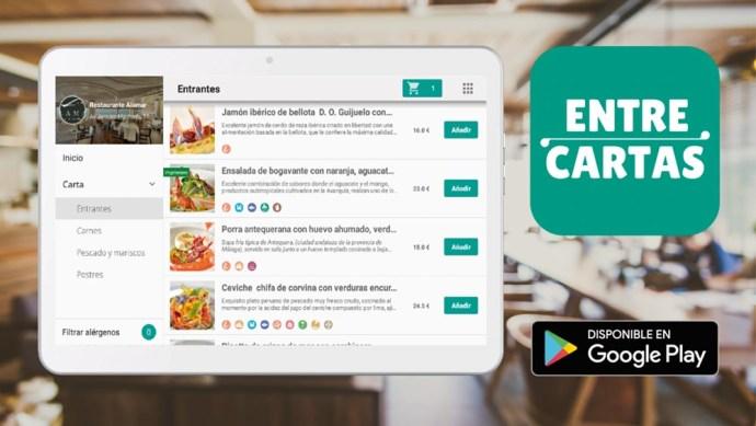 EntreCartas Tablet