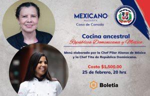 Cocina ancestral Republica Dominicana