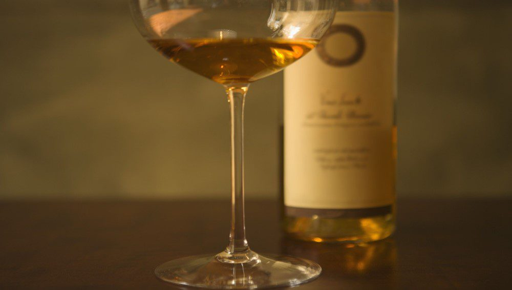 copa de vino ice wine