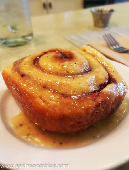 Browned Butter Cinnamon Roll