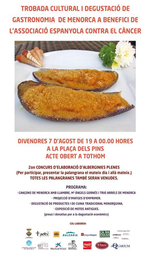 Concurs Auberginies AECC Ciuta cartell
