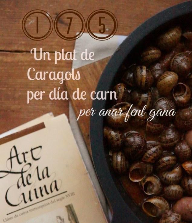 Un plat de caragols per dia de carn 125