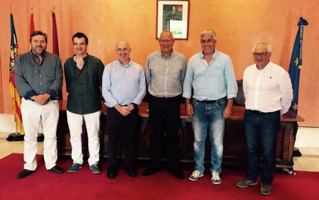 Viatge Denia alcalde i grup