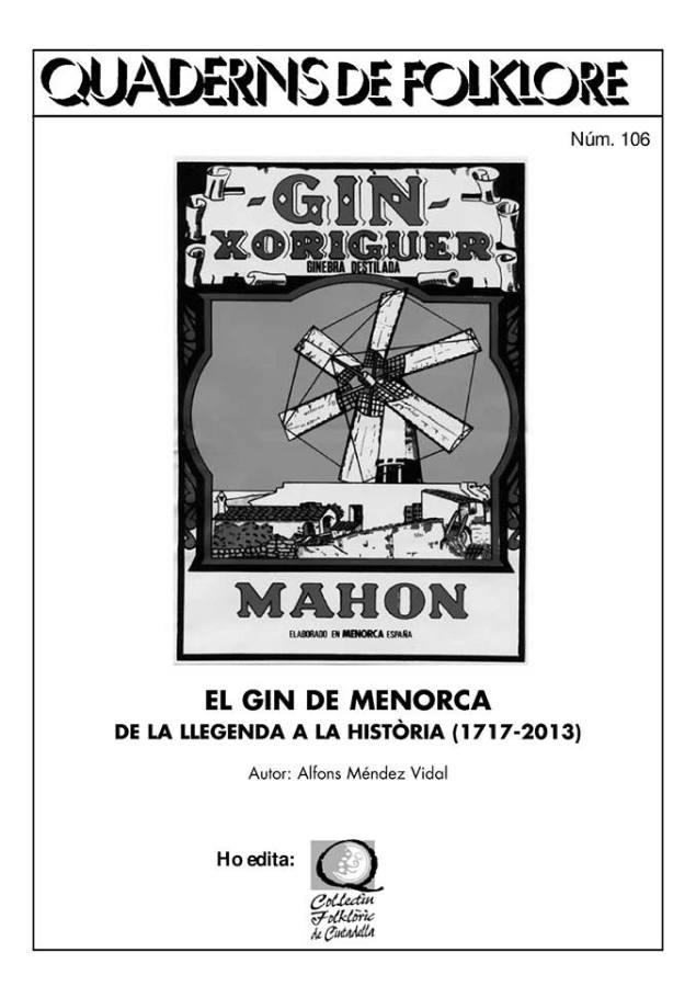 coctel 3 tocs Quadern Folklore Gin