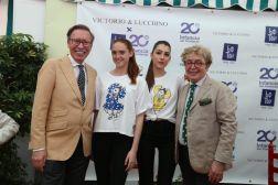 Victorio & Lucchino x Botón Moda Ética, presentan la primera colección 100% solidaria a favor de la Fundación Infancia sin fronteras - Gastronomía y Moda
