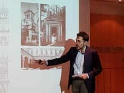 La portada de la Feria de 2020 recreará el edificio del Hotel Alfonso XIII