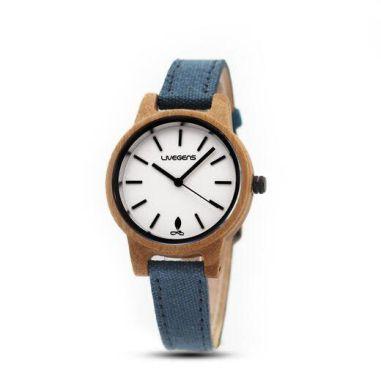 Relojes de madera para él y para ella by Livegens - Gastronomía y Moda