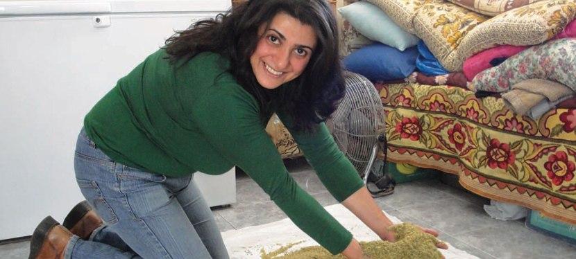 Roasting Green Wheat in Galilee | Abbie Rosner