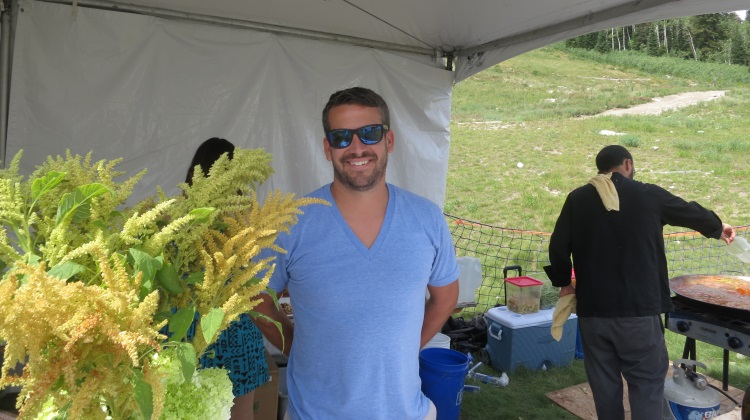 Taste Of The Wasatch: Scott Evans of Finca, Pago, ELTH, Hub And Spoke in 2014