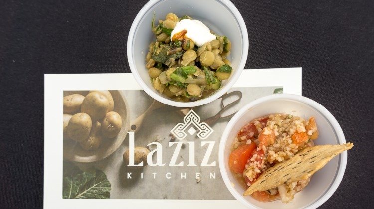 Tastemakers 2016 - Laziz Kitchen dishes