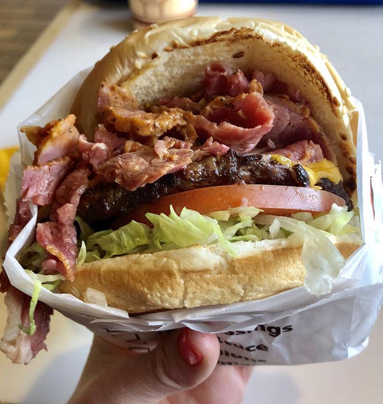 Crown Burgers - crown burger (The Beehive)