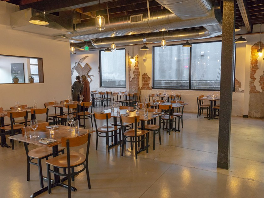 SLC Eatery - main dining space