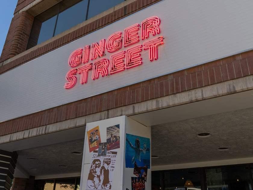 Ginger Street - sign