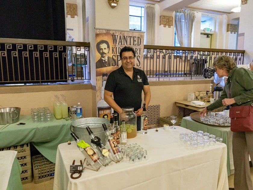Feast Of The Five Senses 2018 - Kid Curry cocktails