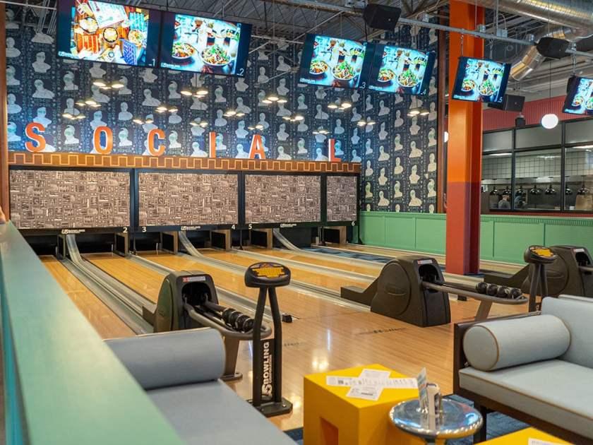 Punch Bowl Social Salt Lake City - mini bowling
