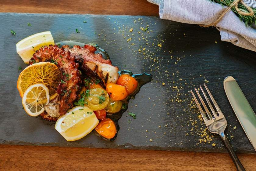 Osteria Amore - octopus