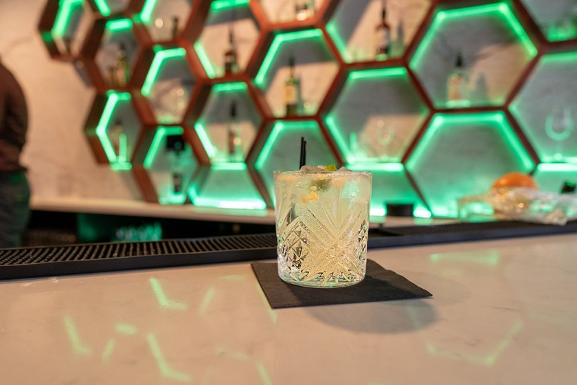 Blue Marlin - cocktail