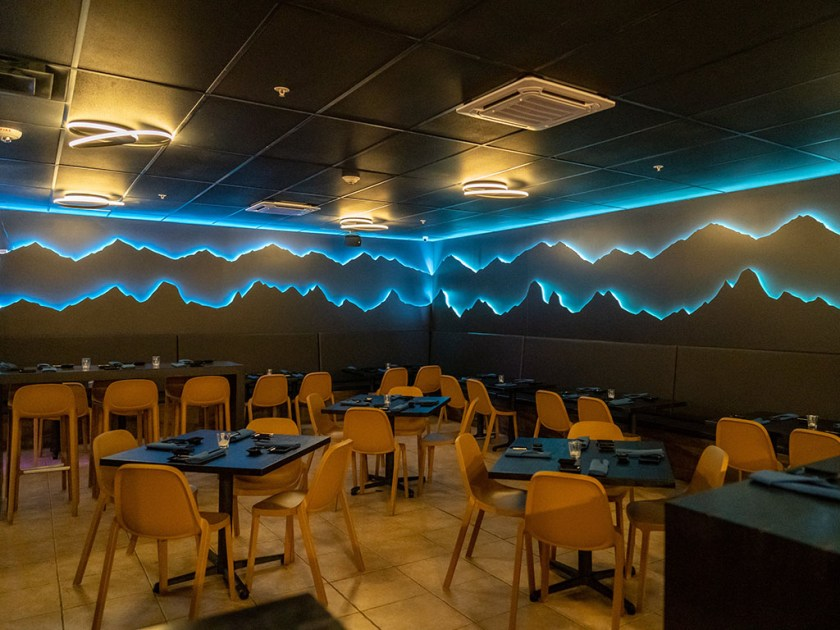Blue Marlin - main dining space