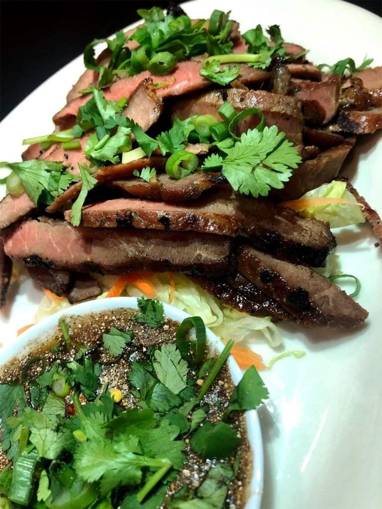 Dee Garden Thai - grilled BBQ beef (Dee Garden Thai)