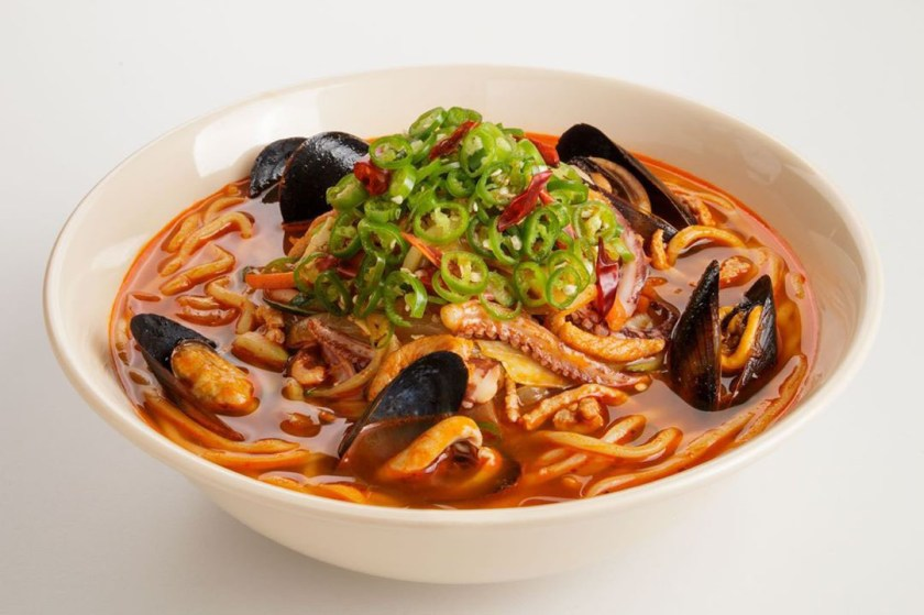 Gochu Jjamppong (Paik's Noodle)
