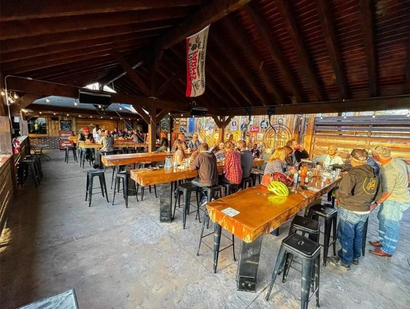 Ice Haus - patio (Ice Haus)
