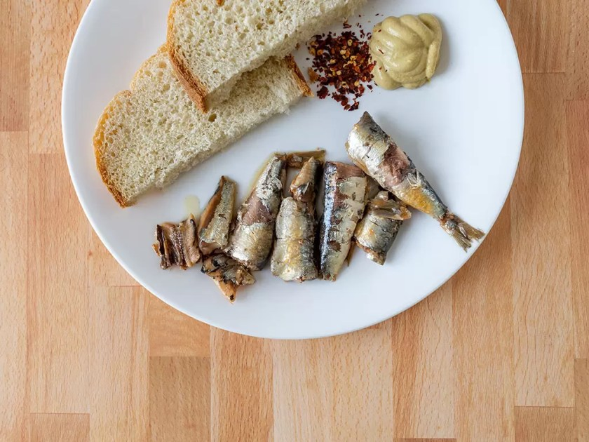 Jose Gourmet sardines bought from Caputos