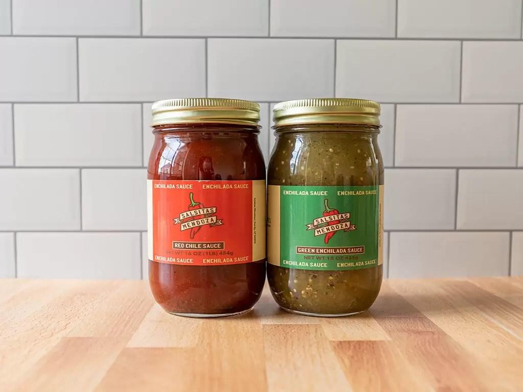 Salsitas Mendoza - enchilada sauce