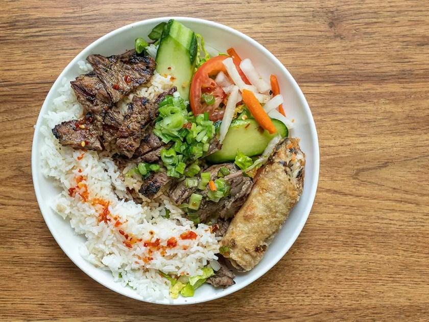 SOMI - short rib rice plate